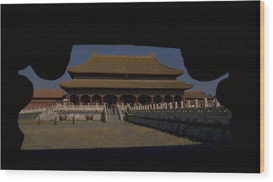 Forbidden City, Beijing Wood Print