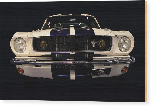 Ford Front Vew Wood Print