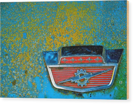 Ford Logo Wood Print by Craig Perry-Ollila