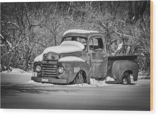 Ford Truck 2016-1  Wood Print