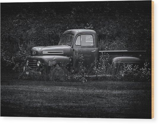 Ford Truck 2017-1 Wood Print