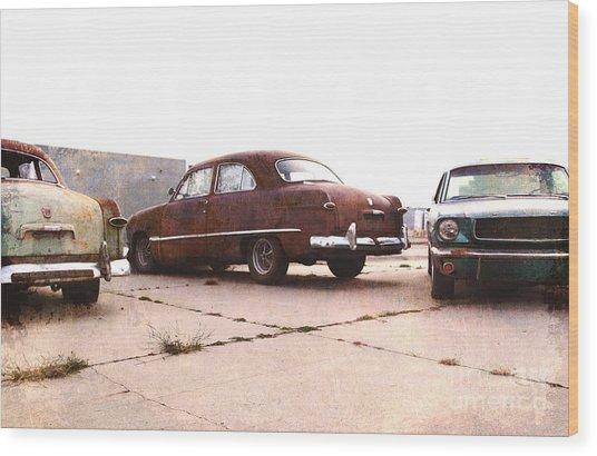 Fords Wood Print