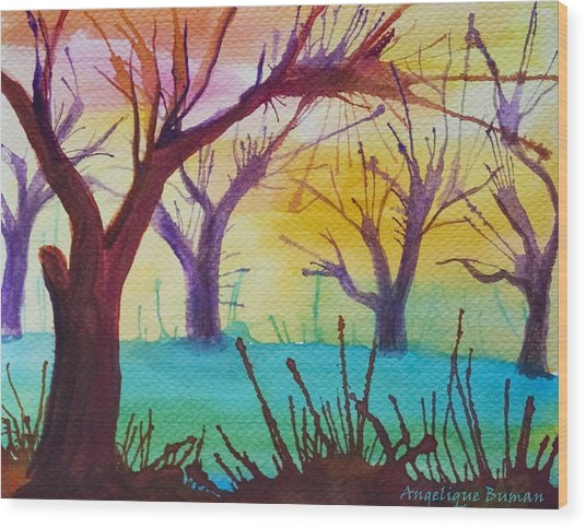 Forest Fanale Wood Print
