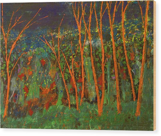 Forest Of Morpheus Wood Print