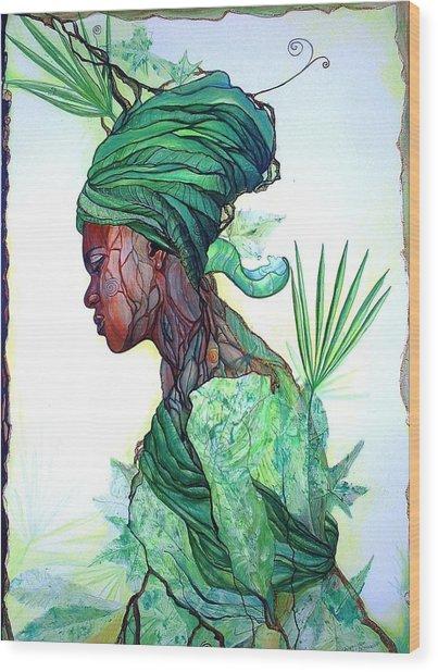 Forest Spirit Wood Print