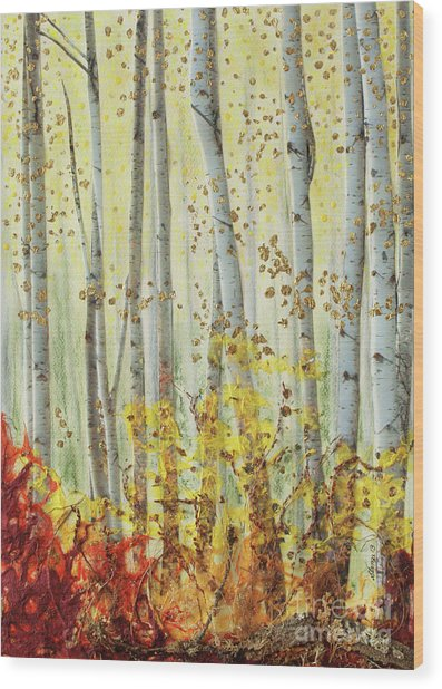 Forever Autumn Wood Print