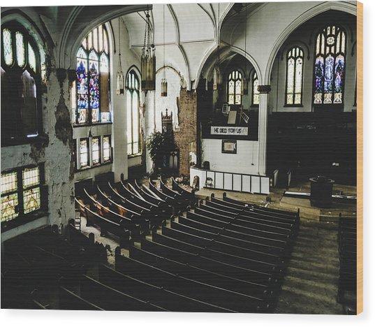 Forgotten Church Wood Print by Dylan Murphy