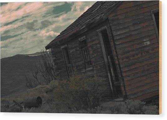 Forgotten Wood Print by Matthew Fredricey