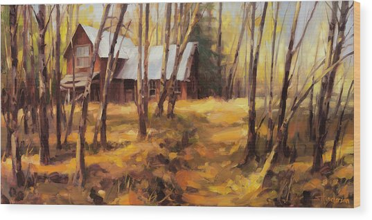 Forgotten Path Wood Print