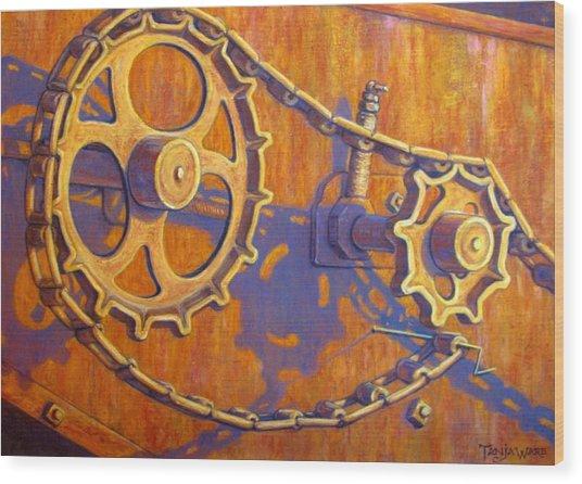 Forlorn Wood Print by Tanja Ware