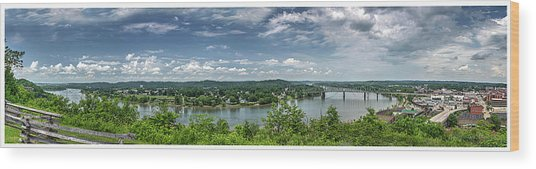 Fort Boreman Lookout Wood Print