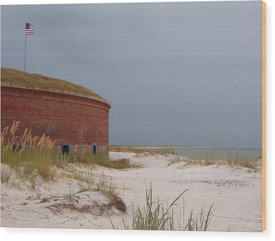 Fort Massachusetts  Wood Print