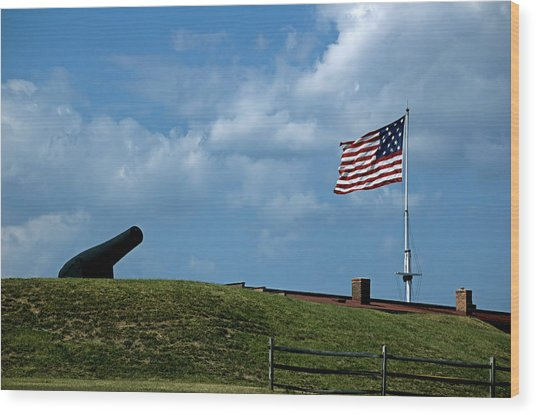 Fort Mchenry Baltimore Maryland Wood Print by Wayne Higgs