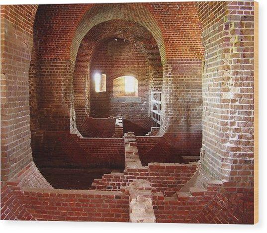 Fort Pulaski I Wood Print