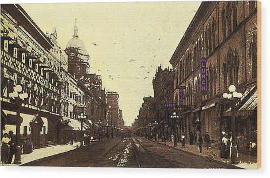 Fort Wayne Indiana 1913 Wood Print