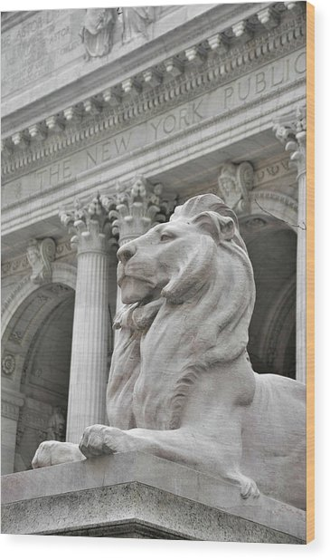 Fortitude King  Wood Print by JAMART Photography