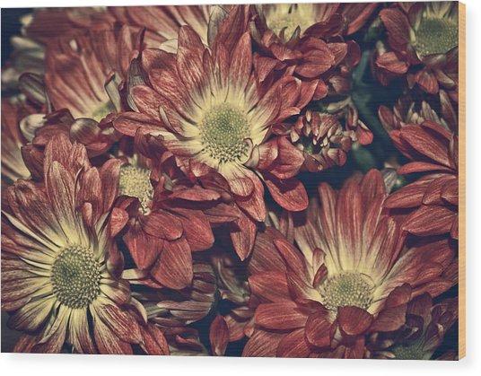 Foulee De Petales - 04b Wood Print