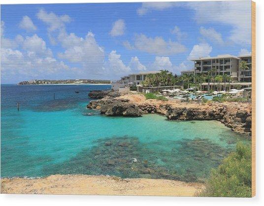 Four Seasons Hotel In Anguilla Wood Print