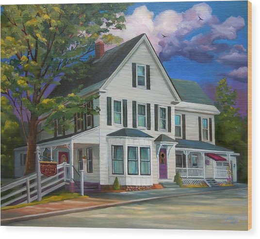 Fournier Funeral Home Wood Print