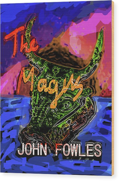 Fowles Magus Poster  Wood Print