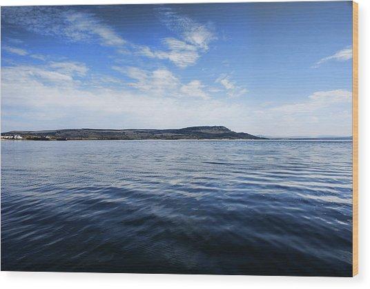 Foyle Ferry Crossing Wood Print