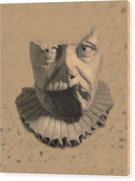 Fragments From Antiquity Wood Print by Charles Carlos Odom