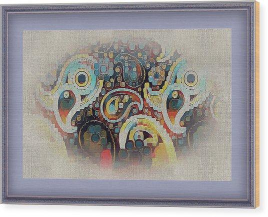 Framed Fantasy Wood Print