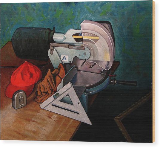 Framer's Tools Wood Print by Doug Strickland