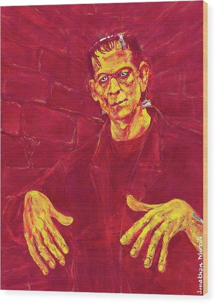 Frankenstein's Monster 1931 Wood Print