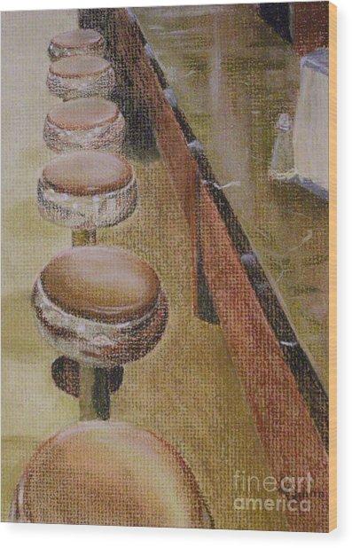 Franks Deli Wood Print
