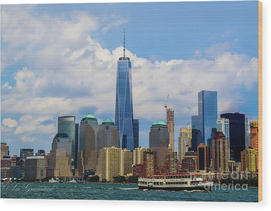 Freedom Tower Nyc Wood Print