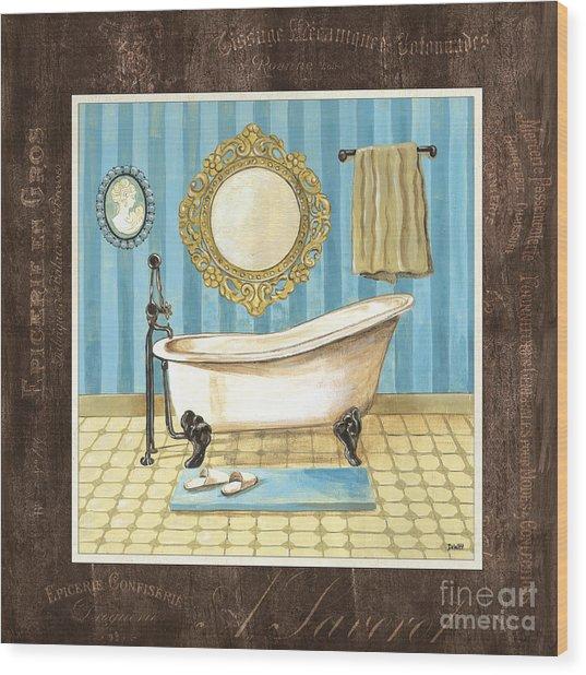French Bath 1 Wood Print