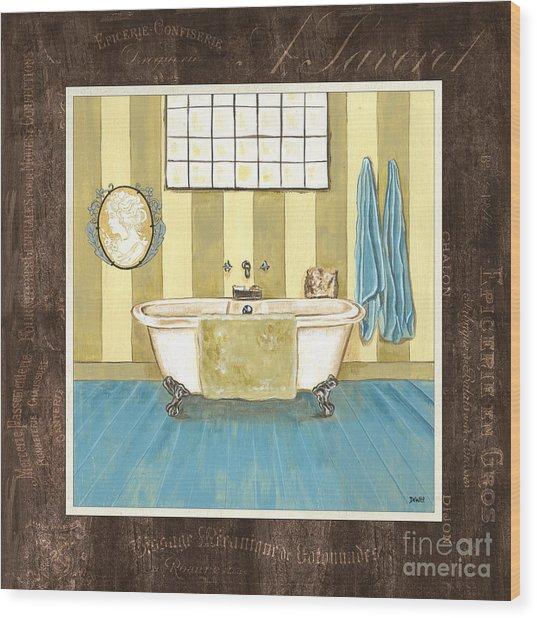 French Bath 2 Wood Print