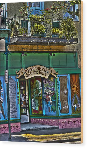 Frenchman Deli Wood Print