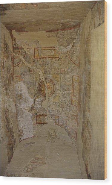 Castel Fresco Wood Print by JAMART Photography
