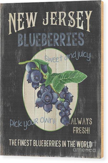 Fresh Berries 1 Wood Print