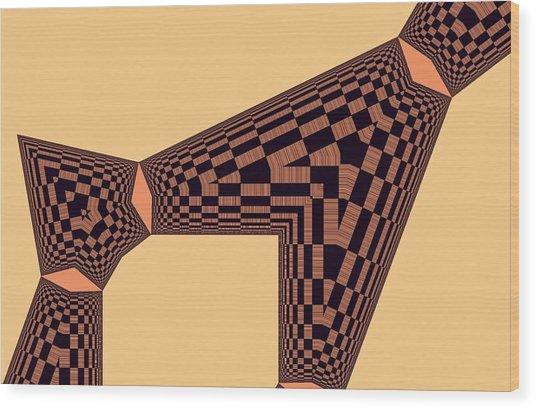 Friend Wood Print