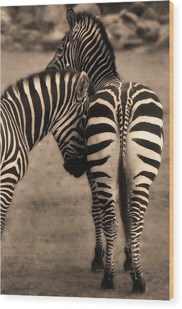 Friendship - Amis Wood Print