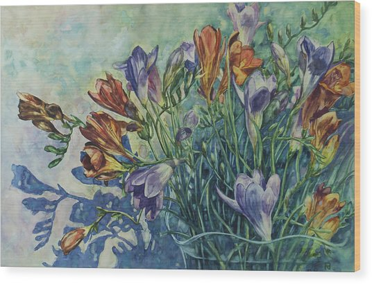 Frishias Wood Print
