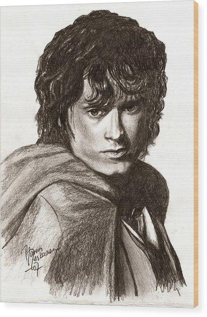 Frodo Wood Print by Maren Jeskanen