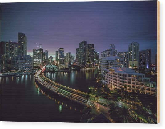from Brickell Key II Wood Print
