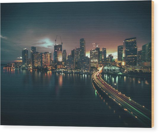 from Brickell Key Wood Print