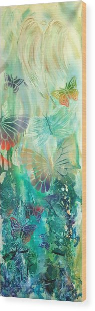 From Butterfly Whispers To Angel Wings Wood Print