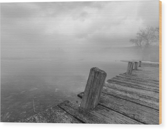 From The Dock Wood Print