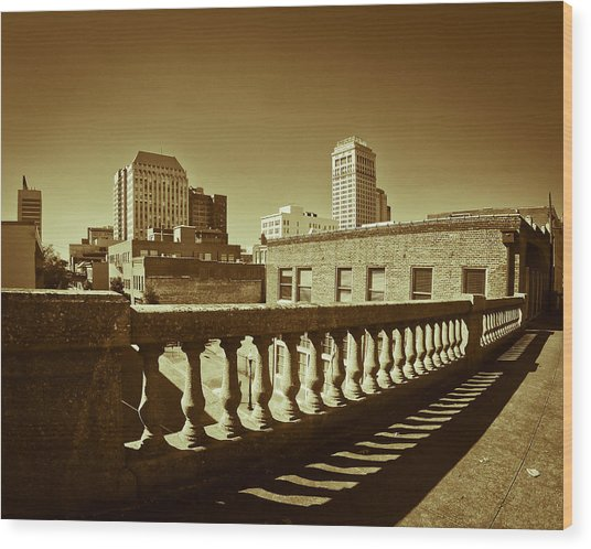 From The Viaduct Wood Print
