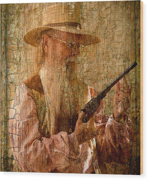 Frontiersman Wood Print
