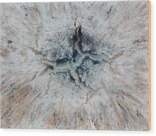 Frozen Universe Wood Print