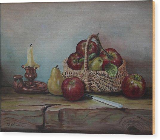Fruit Basket - Lmj Wood Print