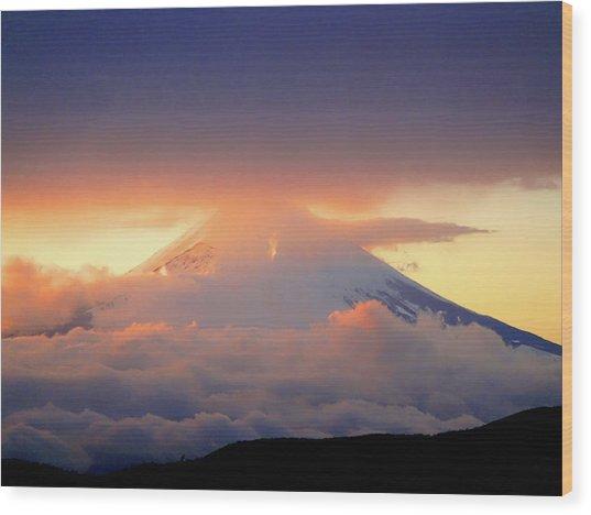 Fuji Sam Wood Print
