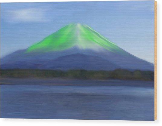 Fuji Wood Print